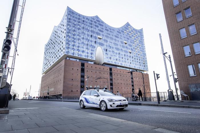 Volkswagen - essais conduite autonome de niveau 4 à Hambourg
