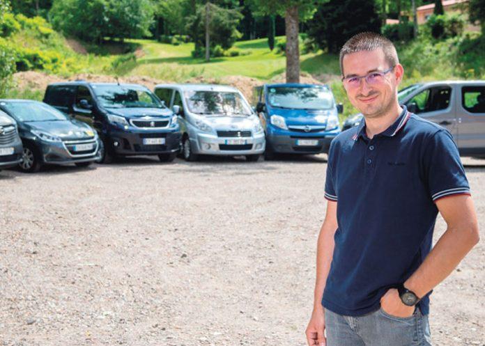 Adrien Fombaron, APF Entreprises France Handicap - Vosges