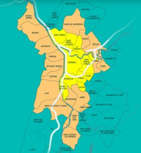 Carte ZFE Grenoble