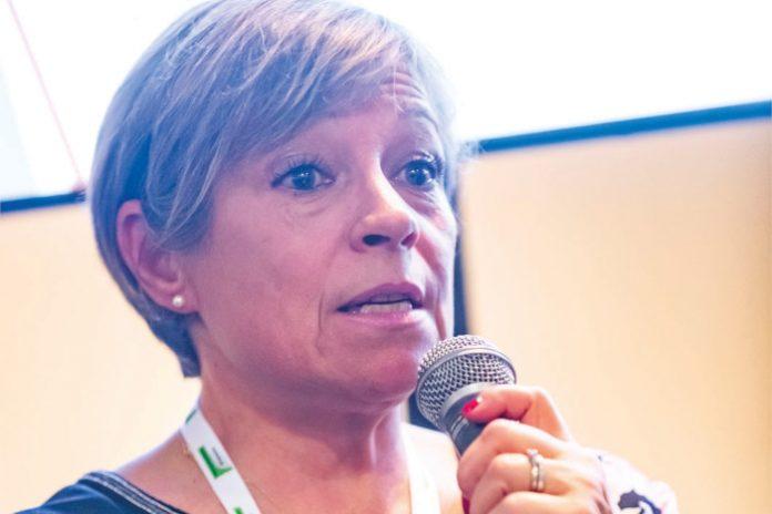Christine Lesueur, responsable de la flotte, Konecranes France