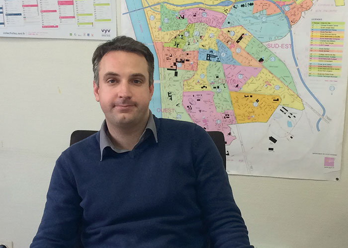 Christophe Enault, directeur des services techniques, agglomération d'Agen