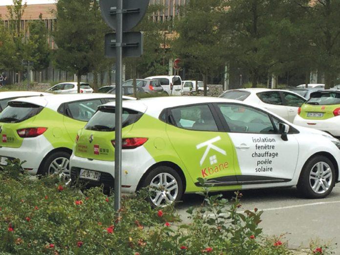 Chez Kbane, spécialiste de la rénovation énergétique de l'habitat, les boîtiers ont d'abord été installés pour suivre les 86 VUL du parc de 150 véhicules, avec l'objectif de déterminer précisément le temps passé sur le chantier.
