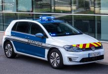 Gendarmerie e-Golf