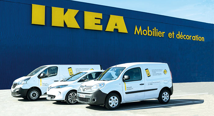 RENAULT MOBILITY CHEZ IKEA