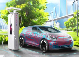 Volkswagen ID.3 et point de charge Ionity