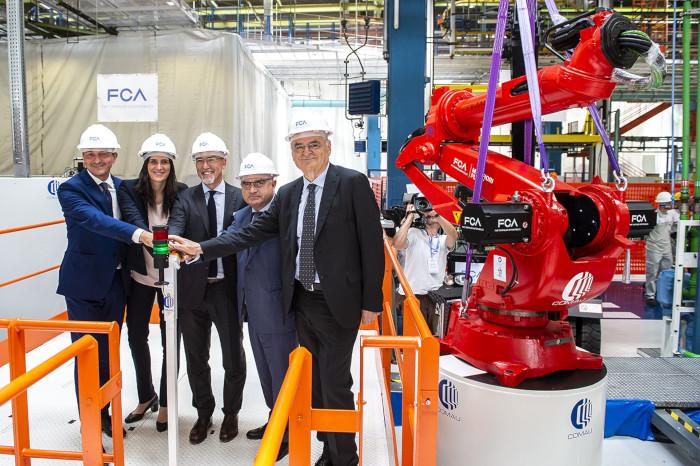FCA usine Mirafiori