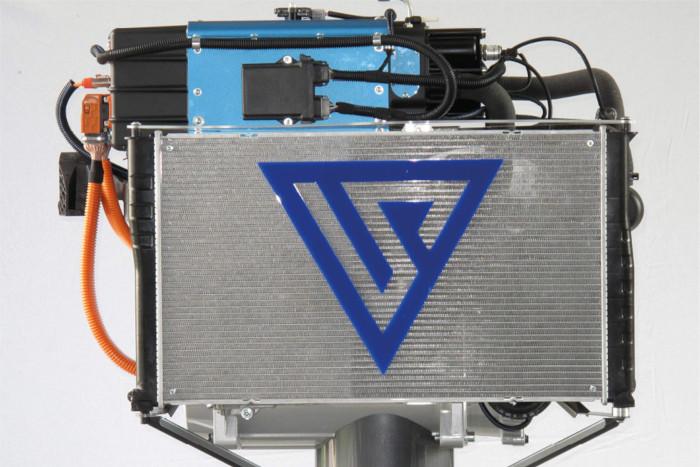 Aux Mines ParisTech, l'équipe de Christian Beauger a notamment mis au point, en partenariat avec le spécialiste de la PAC hydrogène Symbio, un procédé de recirculation de l'hydrogène sans pompe qui simplifie le système tout en en réduisant le coût.
