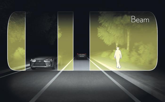 Lexus – Caméra de vision nocturne