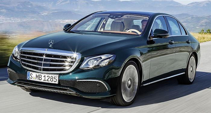 Mercedes Classe E 300e hybride rechargeable