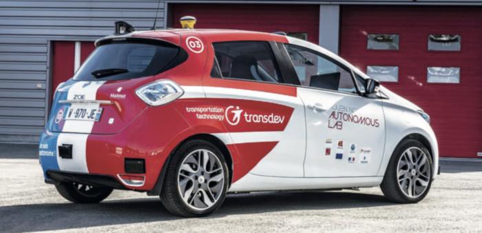 Rouen Normandy Autonomous Lab - Renault Zoe