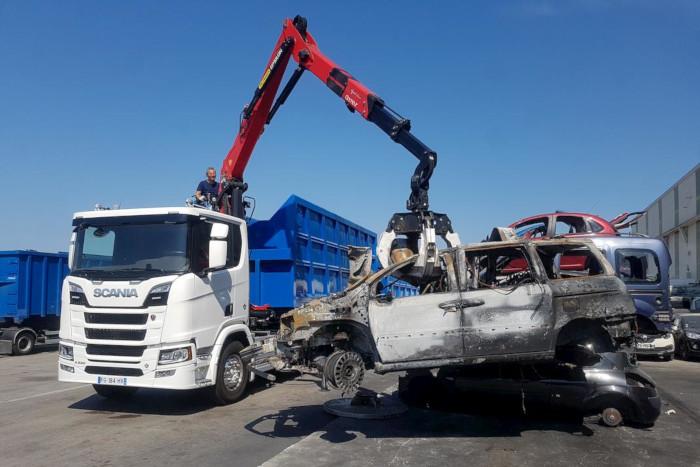 Scania la billonne