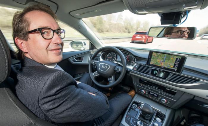 Véhicule Audi autonome