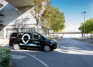 Viavan covoiturage usine Mercedes-Benz de Brême en Allemagne