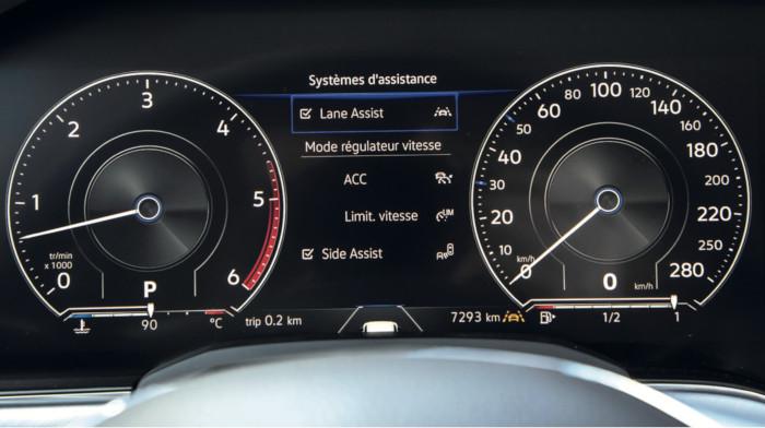Volkswagen Touareg - équipements de sécurité