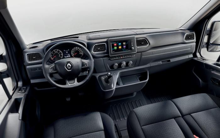 Nouveau Renault Master planche de bord