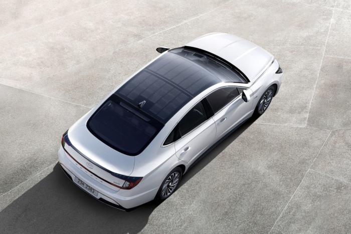 Hyundai Sonata toit solaire