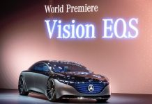 Francfort Mercedes Vision EQS