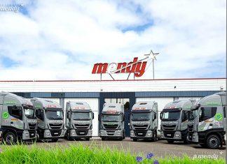 Véhicules industriels GNV - Arrivée de dix camions au GNL chez P Mendy