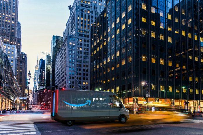 Amazon 100 000 camions électriques