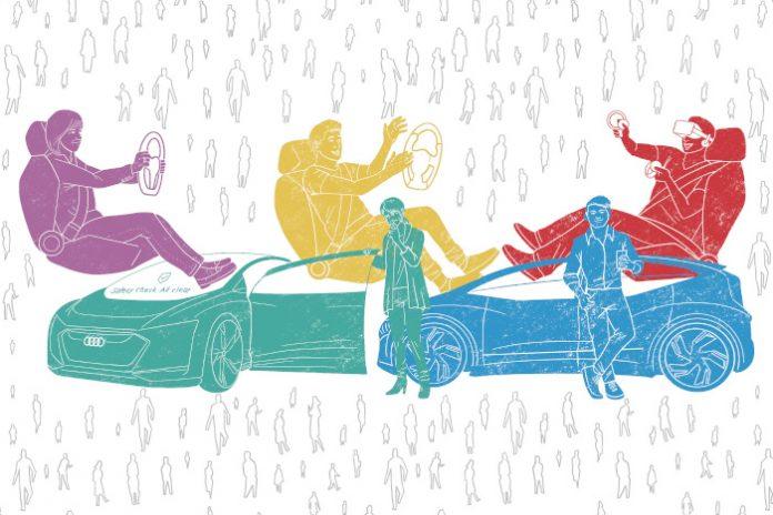 Etude Audi véhicule autonome