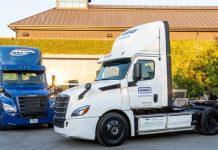 Freightliner eCascadia Mercedes