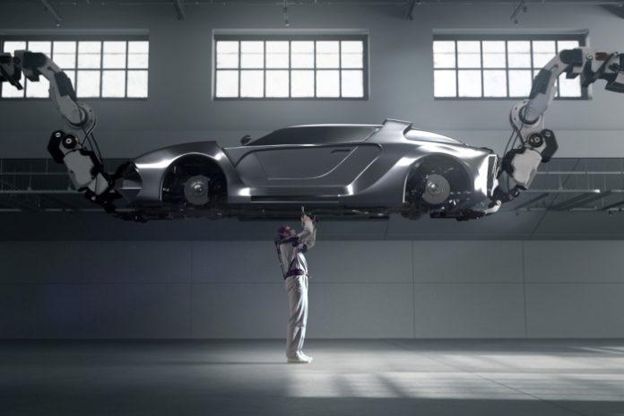 Hyundai veste exosquelette