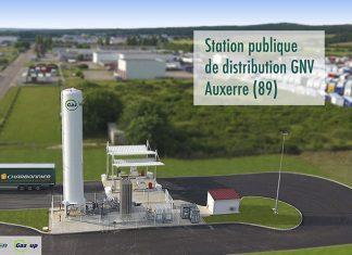 GNV - Station GNLC à Auxerre de Picq et Charbonnier