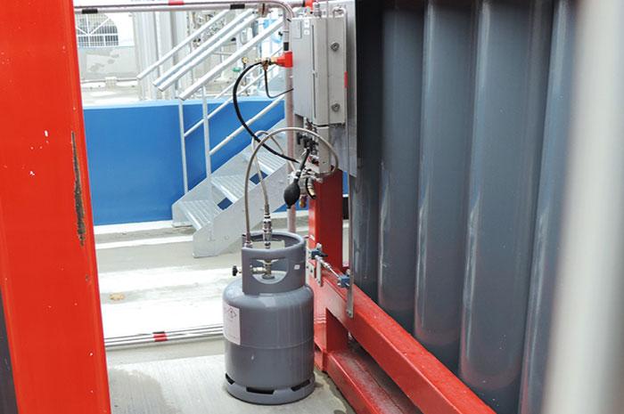 Système d'odorisation du gaz