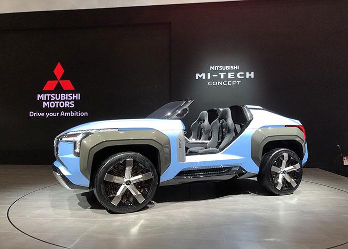 Mitsubishi buggy électrique