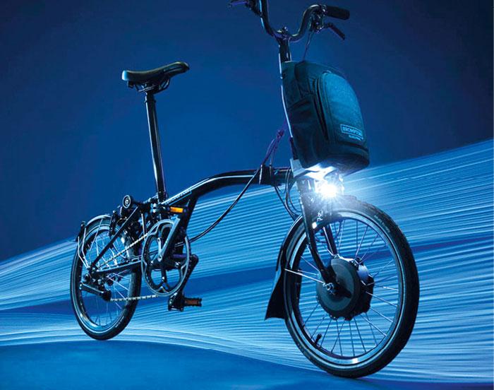 Vélos à assistance électrique - Brompton Electric pliant