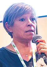 Christine Lesueur, responsable de la flotte, Konecra France