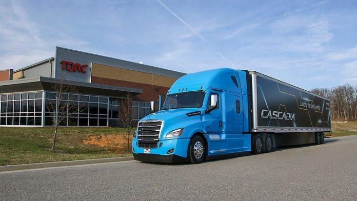 Daimler Trucks camion autonome