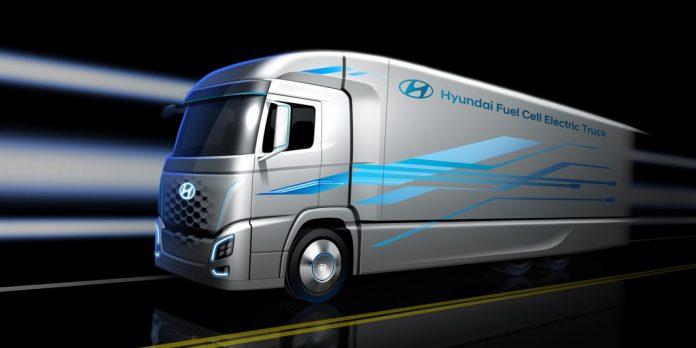 Hyundai H2 Energy camions hydrogène