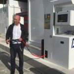 Philippe Couland, chef de projet en phase réalisation chez la société Mesure Process, explique le fonctionnement de la station Paul Meurice