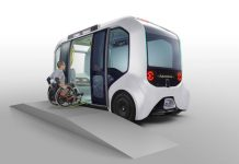Toyota e-Palette Tokyo 2020