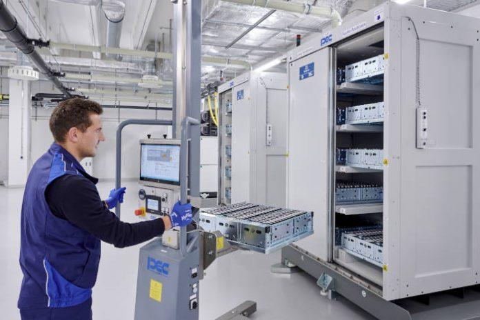 Centre de compétence cellules de batteries BMW