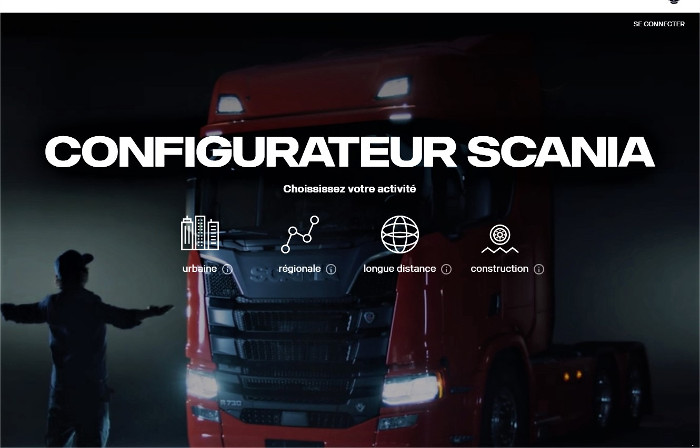 configurateur Scania