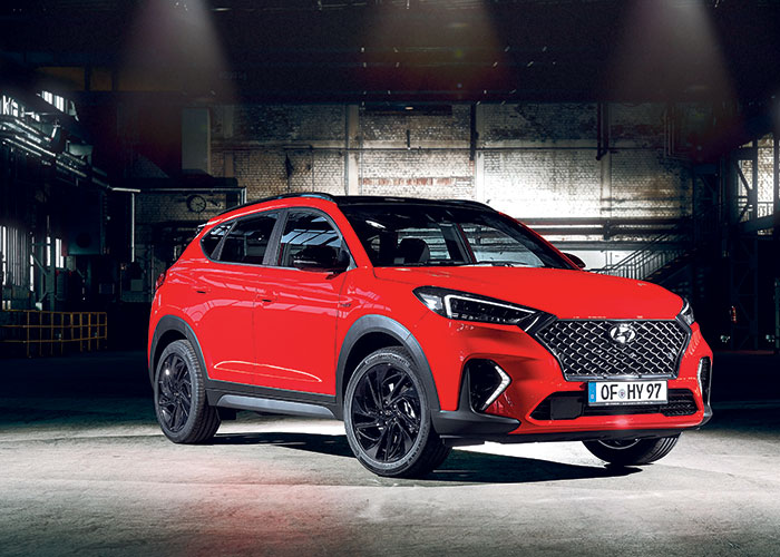 SUV compacts - Hyundai Tucson
