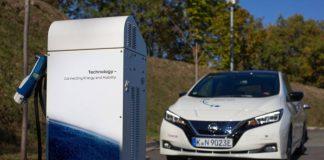 Nissan recharge electrique