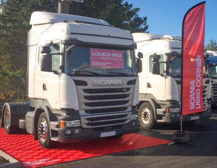 Scania location poids lourds d'occasion