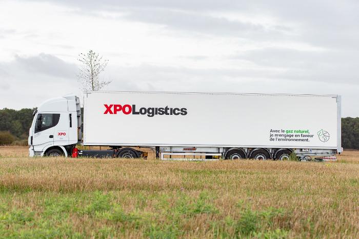 XPO Logistics Iveco Stralis GNL/GNC