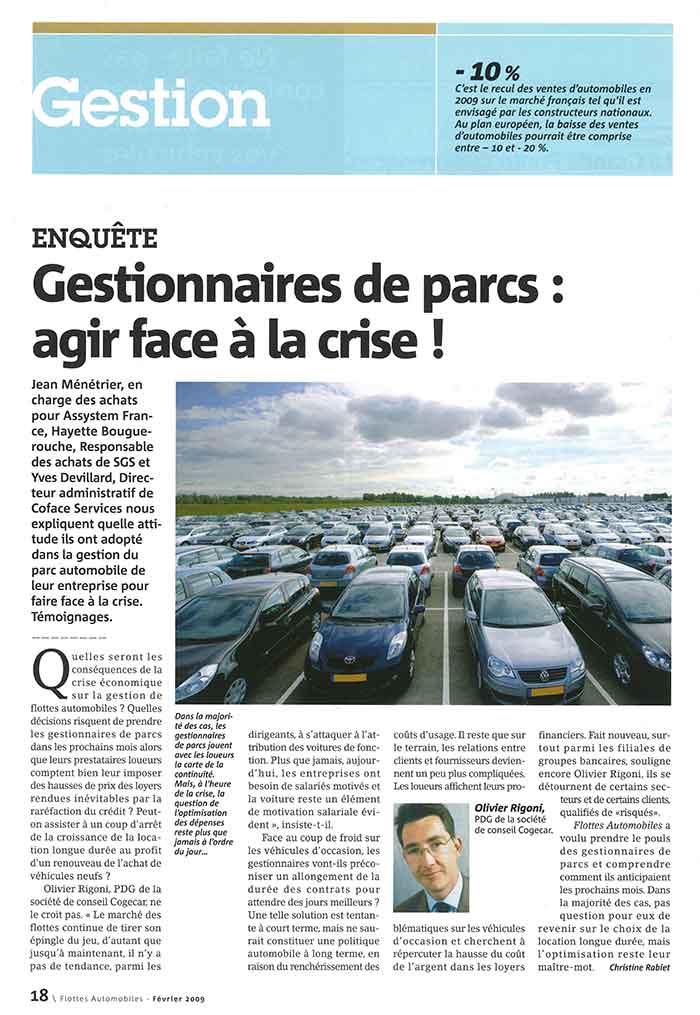 Flottes Automobiles n° 145 de février 2009