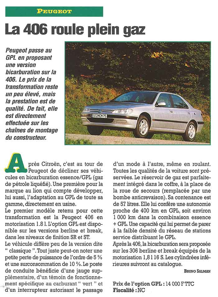 Flottes Automobiles n° 37 de mars 1998