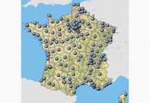 Carte du réseau BMW