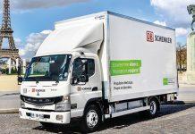Transport tout-électrique - Fuso eCanter testé par DB Schenker