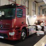 Mercedes Actros GNC transmission automatique