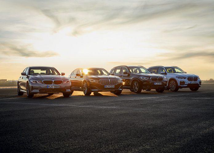 BMW 330e, BMW 745Le, BMW X3 xDrive30e, BMW xDrive45e