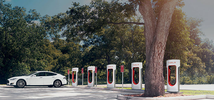 Superchargeurs Tesla