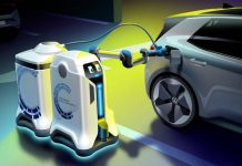 Volkswagen Robot de charge mobile