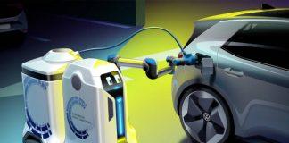 Volkswagen Robot de charge mobile